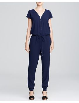 zip-v-jumpsuit by vince