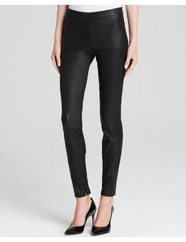 leather-ankle-zip-leggings by vince