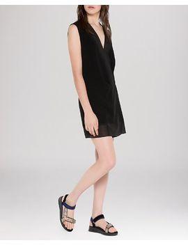 dress---rully-illusion-hem by sandro