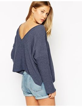 asos-jumper-with-v-back by asos-collection