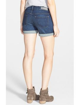 treasure&bond-cuffed-denim-shorts by treasure-&-bond