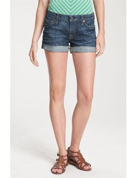 roll-cuff-denim-shorts by 7-for-all-mankind®