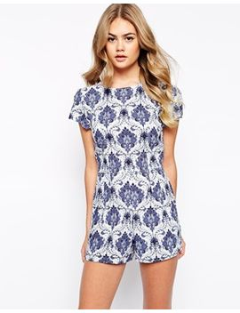 motel-hoppy-romper-in-santorini-print by motel
