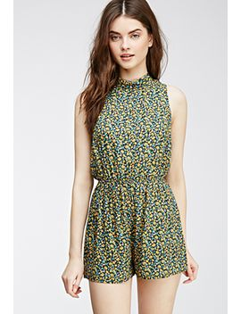 floral-print-romper by forever-21