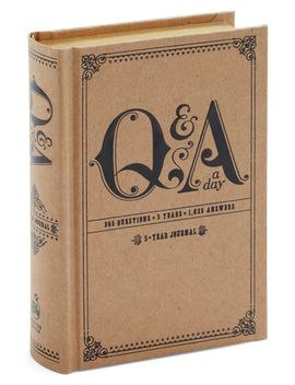 q&a-a-day-5-year-journal by modcloth