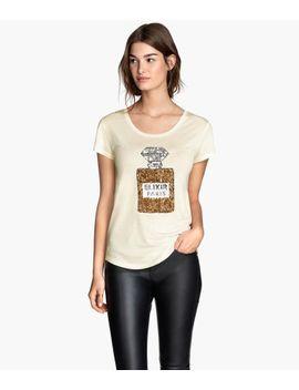 shirt-mit-paillettenstickerei by h&m