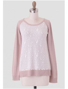 light-snow-sweater by ruche