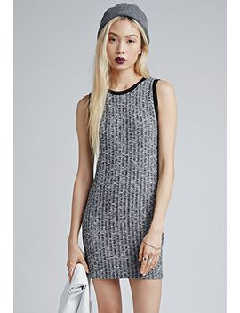 marled-ringer-tank-dress by forever-21