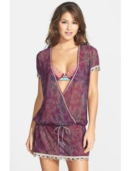 violet-danza-mesh-cover-up-dress by maaji