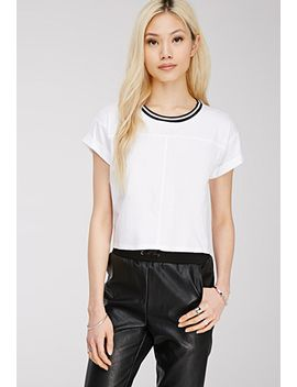 striped-crew-neck-tee by forever-21