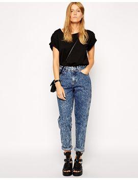 asos-original-rigid-mom-jeans-in-argentina-acid-wash by asos-collection