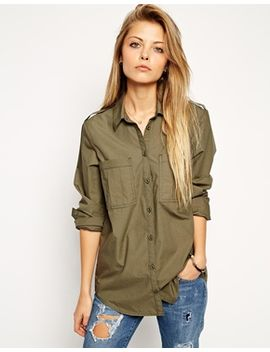 asos-military-shirt by asos-collection