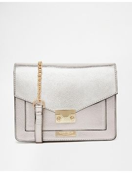 carvela-metallic-cross-body-bag by carvela