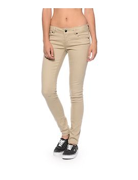 empyre-logan-khaki-skinny-jeggings by empyre