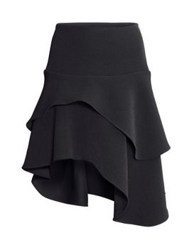 asymmetric-tiered-skirt by h&m