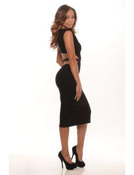vixen-midi-dress---black by fashion-nova
