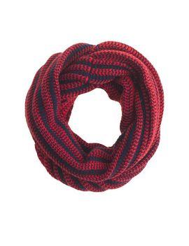 diamond-stitch-infinity-scarf by jcrew