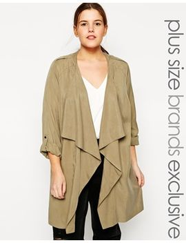 new-look-curve-soft-waterfall-trench by new-look-inspire