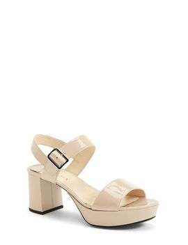 buckled-platform-sandal-(women) by prada