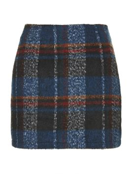 **klein-checked-woolly-skirt-by-jovonna by topshop