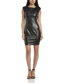 rock-&-religion-womens-micronesia-body-con-short-sleeve-dress,-black,-size-12 by rock-&-religion