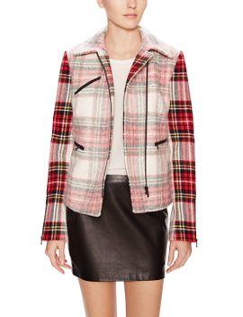 bit-plaid-zipper-pocket-jacket by gilt