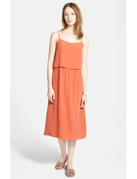 camisole-overlay-silk-slipdress by madewell