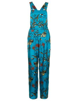 fable-print-silk-dungarees-by-boutique by topshop