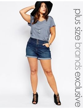 new-look-curve-high-waist-short by new-look-inspire