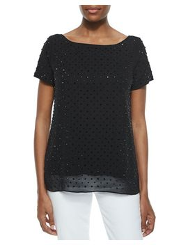 rhinestone-tee by milly