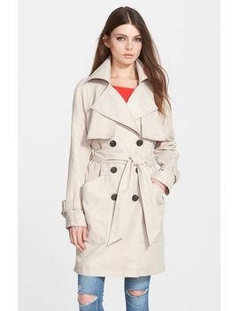 patch-pocket-double-breasted-trench-coat by bcbgeneration