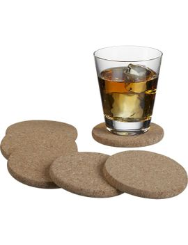 set-of-6-cork-coasters by crate&barrel