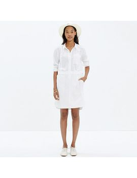 button-down-shirtdress by madewell