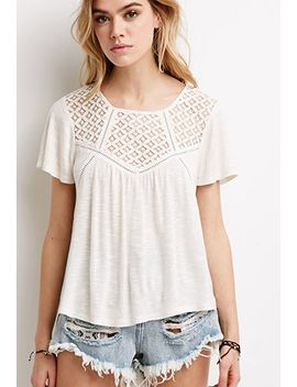 slub-knit-crochet-panel-top by forever-21