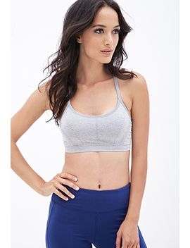 low-impact---heathered-seamless-sports-bra by forever-21