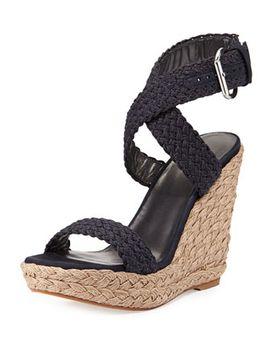alex-crochet-wedge-sandal,-navy by stuart-weitzman