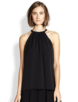 pania-sleeveless-silk-blouse by diane-von-furstenberg