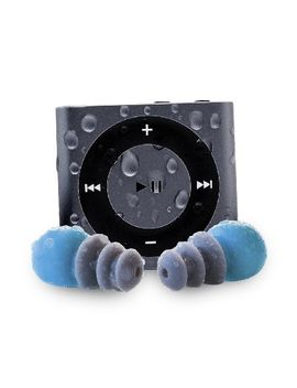 waterfi-waterproof-apple-ipod-shuffle-with-short-cord-waterproof-headphones-(new-model)-(space-grey) by waterfi