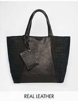 river-island-suede-and-leather-shopper by river-island