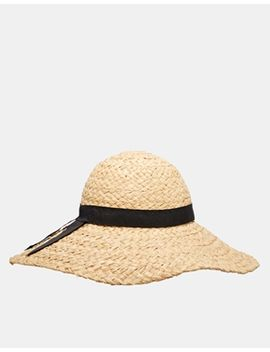 asos-floppy-hat-in-textured-straw by asos-collection