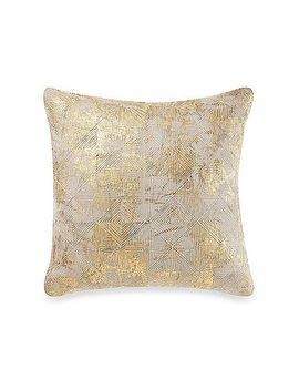 cotton-foil-throw-pillow-in-gold by bed-bath-and-beyond