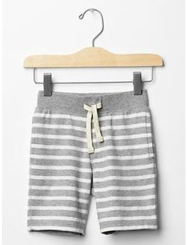 stripe-jersey-shorts by gap