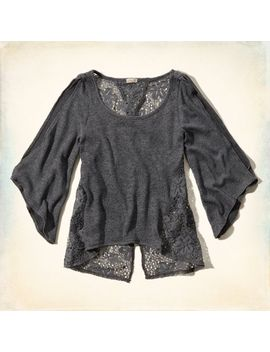 fountain-valley-lace-back-top by hollister