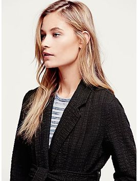 textured-blazer-with-tie by free-people