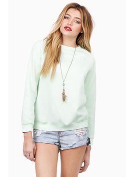 what-a-softie-mint-sweatshirt by tobi