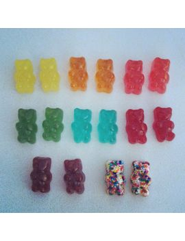 gummy-bear-earrings-(surgical-steel-posts)---available-in-8-colors! by missfridaymourning