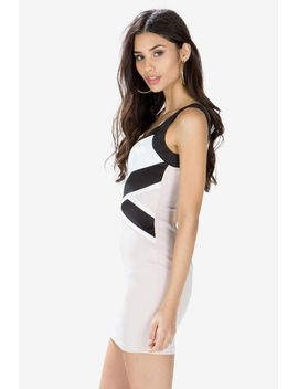 crossed-out-bodycon-dress by agaci