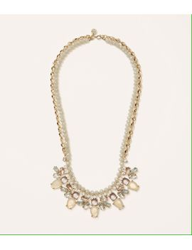 neutral-rondelle-chain-necklace by loft