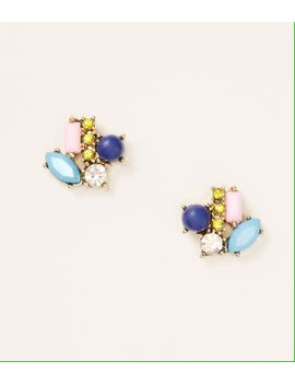 multicolored-cluster-stud-earrings by loft