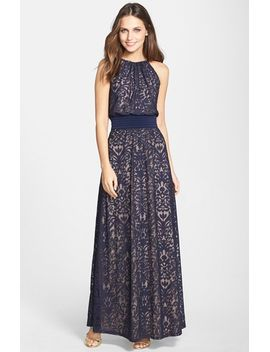 lace-halter-maxi-dress by maggy-london